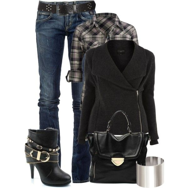 Casual Outfit: Shoes, Dreams Closet, Fall Wins, Fall Outfits, Fashionista Trends, Plaid Shirts, Fall Fashion, Casual Outfits, Boots
