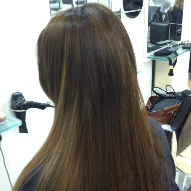Rapture hair extensions, love the effect these give