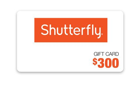 Get ready to make photo books, personalized cards and stationery with this $300 Shutterfly gift card! Enter to win, here!