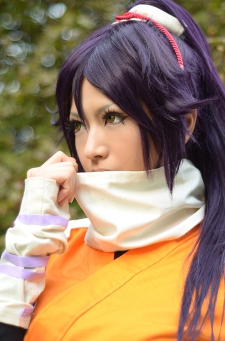 Yoruichi Shihouin cosplay from Bleach