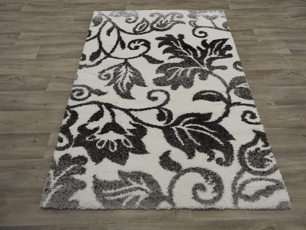Soft Patterned Shaggy Turkish Rug Size: 120 x 170cm