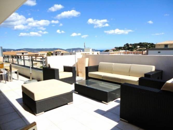 Vente villa de toit vue mer centre ville 4 pi ces 81m2 cavalaire sur mer 832 - Mobilier bord de mer ...