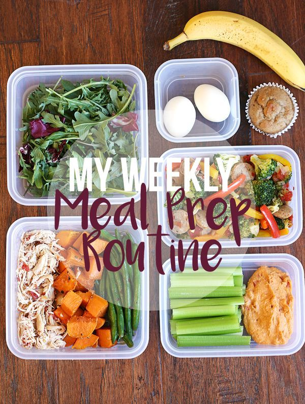 My Weekly Meal Prep Routine! | Eat Yourself Skinny #cleaneating #mealprep