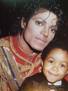 Michael Jackson and Emmanuel Lewis