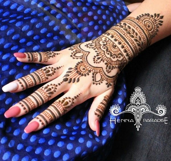 Bridal Mehndi On Hands http://www.maharaniweddings.com/gallery/photo/88681