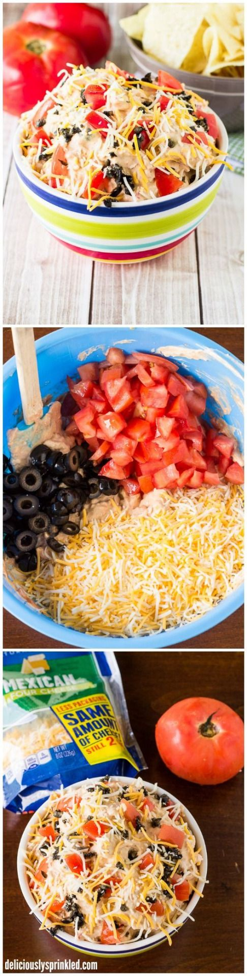 The BEST Taco Dip EVER!! It is always a huge hit at any party!View The Recipe Details