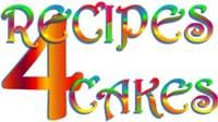 Recipes 4 Cakes Logo, Take Me To Recipes 4 Cakes Main Page  there are LOTS of cup cakes, cakes you name it on this site! ENJOY