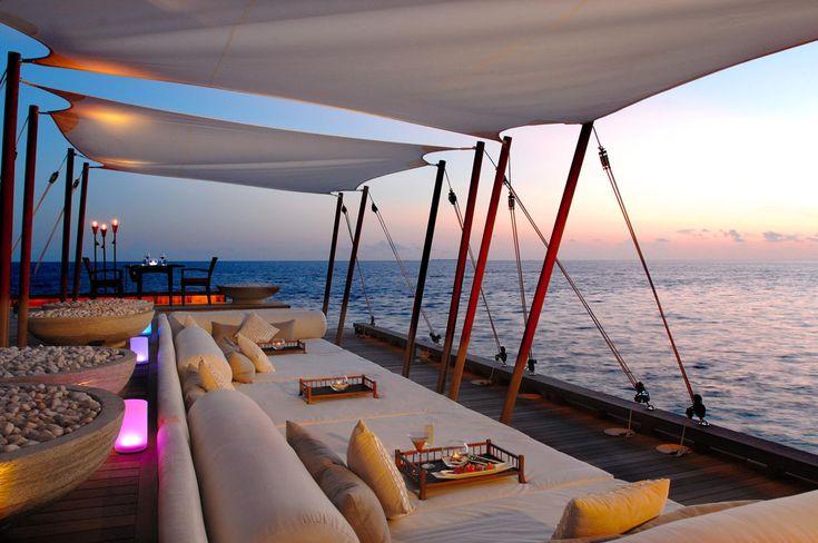 W Maldives Retreat & Spa - sunset view