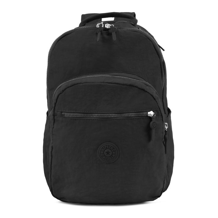 <p>This best-selling backpack now officially has it all thanks to our newest feature: water bottle pockets. Our Seoul backpack is equipped with padded shoulder straps, a durable exterior and roomy interior. Easily fits textbooks and essentials, plus it has a protective sleeve for your laptop, too!</p>  <p></p>  <p><strong>Bonus!: Includes a FREE monkey key fob. Be sure to pick your color in the bonus section at checkout!</strong&...