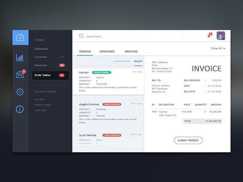 The 25+ best Invoice layout ideas on Pinterest Invoice design - email invoices