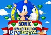 Sonic Gem Collector: Juego de sonic, descubre este juego de coleccion de este gran personaje clasico, Sonic uno de los mas buscados de la internet http://www.ispajuegos.com/jugar5404-Sonic-Gem-Collector.html