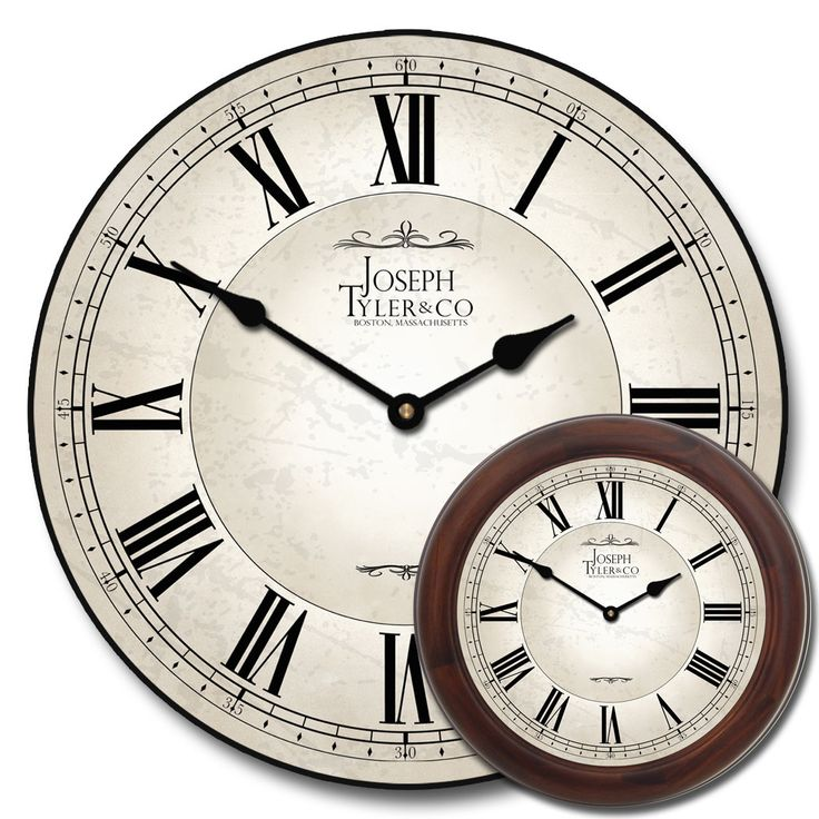 Large White Clock Part - 23: Large White Wall Clock - Classic White Clock Mixed