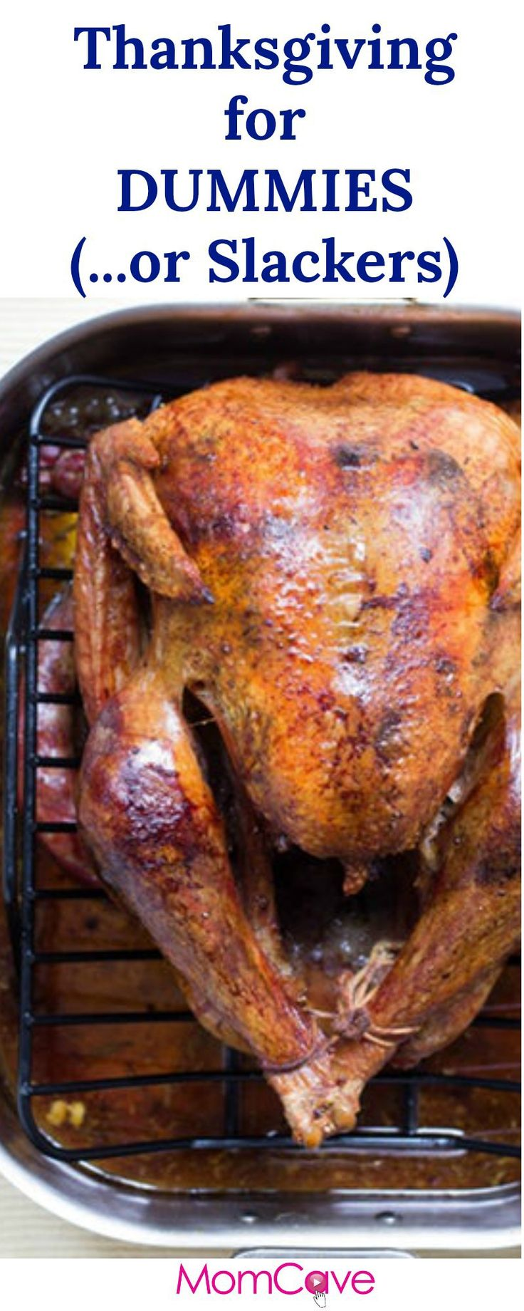 Thanksgiving for Dummies or Slackers... How long to thaw the turkey? How do you cook a turkey? We break it down.  MomCaveTV