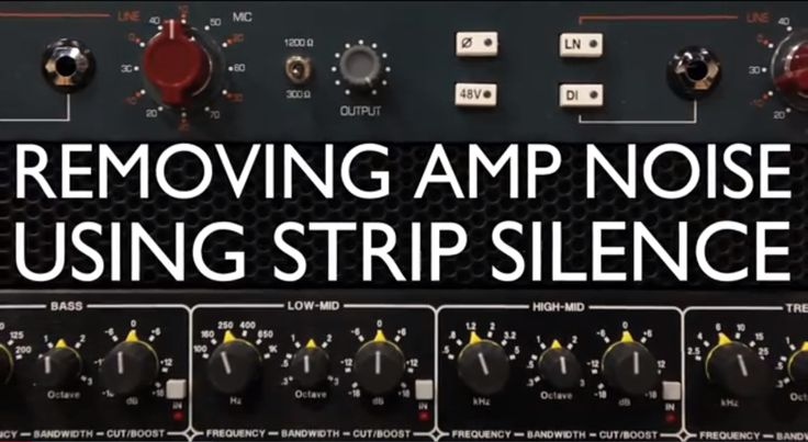 Using a ProTools technique called Strip Silence, Audio Engineering Program Instructor Shaun Youth shows you how to remove amp noise and get your guitar recordings sounding better than ever.  http://www.youtube.com/watch?v=IwsTqRawlVY