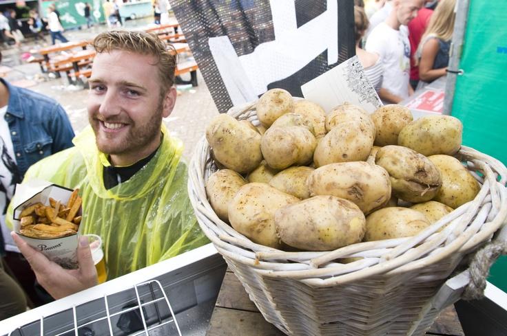 Van aardappel naar frietje - Pomms' ©