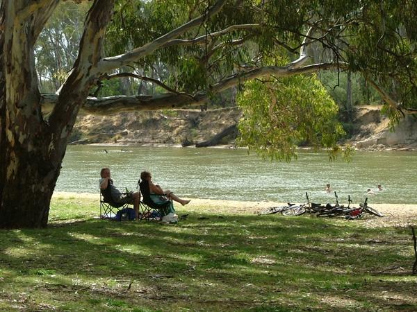 Home. The Murray River at Cobram.