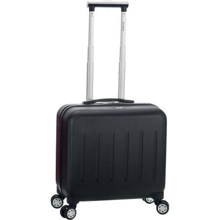 Rockland Pelican Hill Rolling Laptop Case, Black