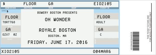The 25 best fake ticket generator ideas on pinterest ticket generator ticket avion and image for Fake concert ticket generator