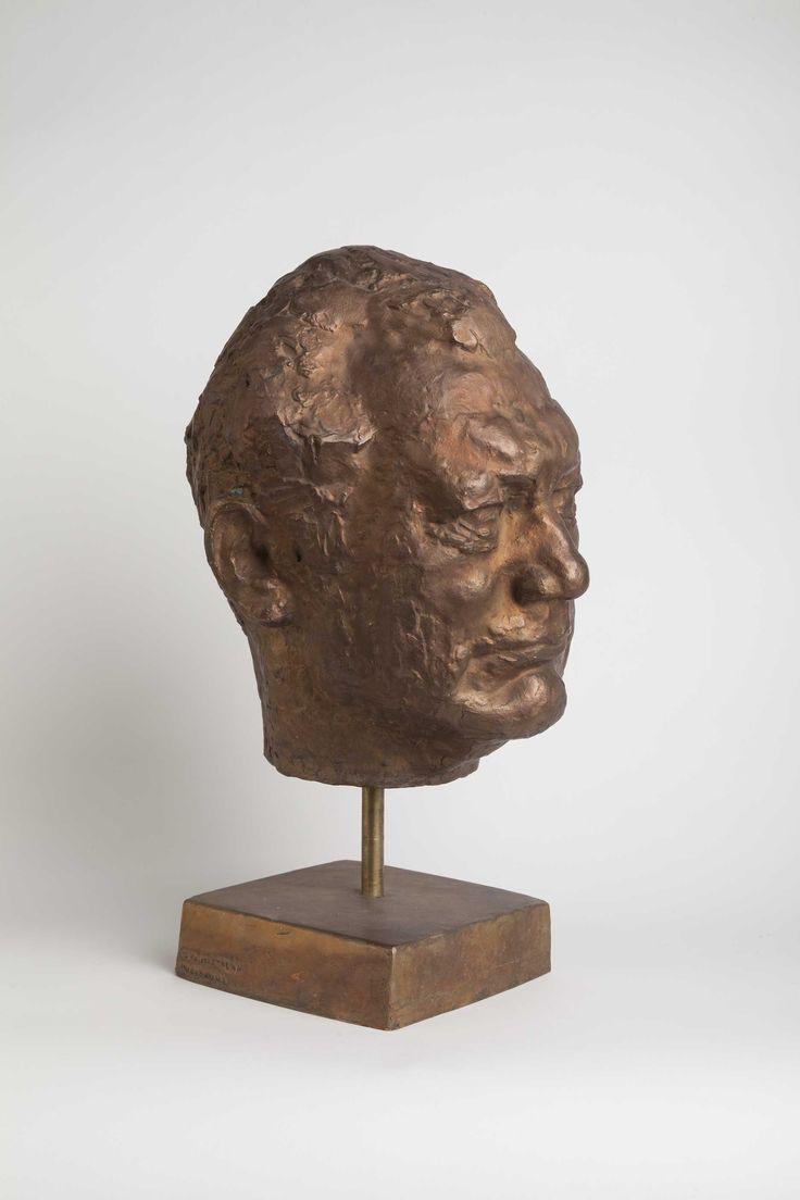 Portrait of Juho Mietala, 1981, bronze By Anja Juurikkala (1923-2015). Heinola Art Museum collection. Foto: Niclas Warius