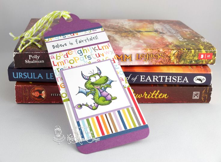 Stamps: Believe in Fairytales Die: Bookmark/Tag Large die Your Next Stamp Paper: Bella Blvd Tiny Tots