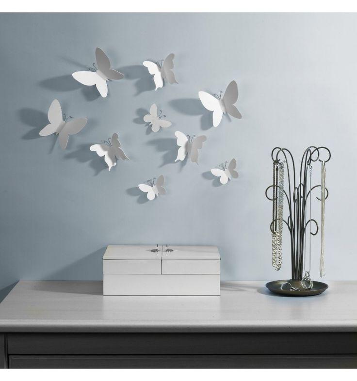 Umbra wanddecoratie vlinders