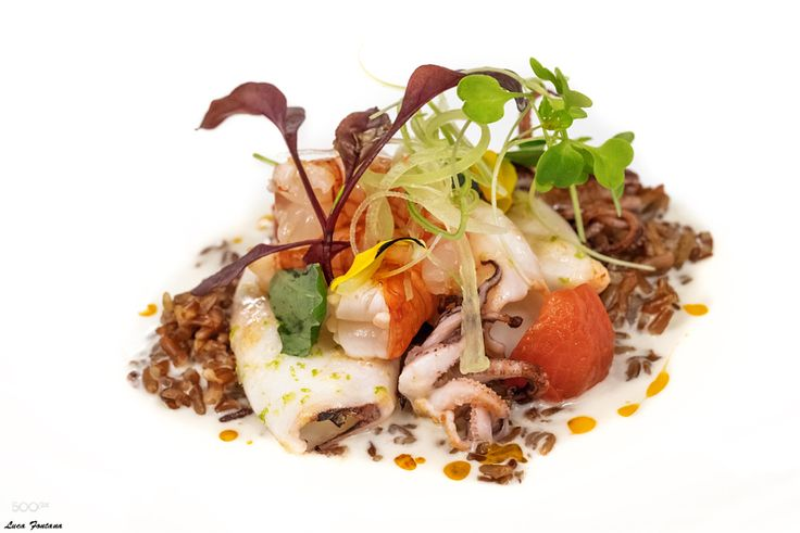 Prawn squid rice coconut ginger and lemongrass by luca-fontana #Food #Drinks #fadighanemmd