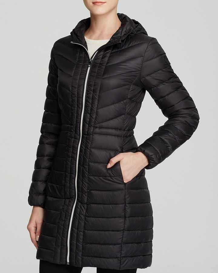 Cole Haan Packable Quilted Down Coat