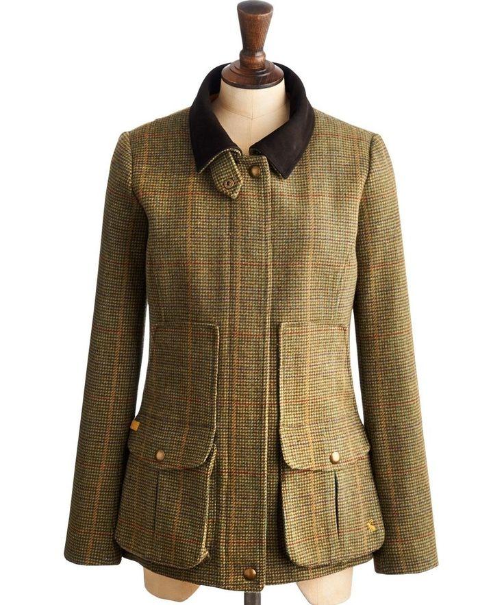 Joules Field Coat - Marwood Tweed