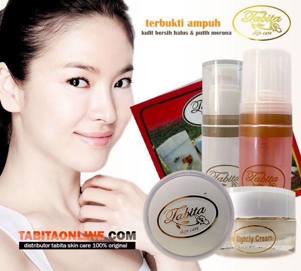 Cream Pemutih Wajah Tabita Skin Care, Terbukti Cepat Dan Ampuh.