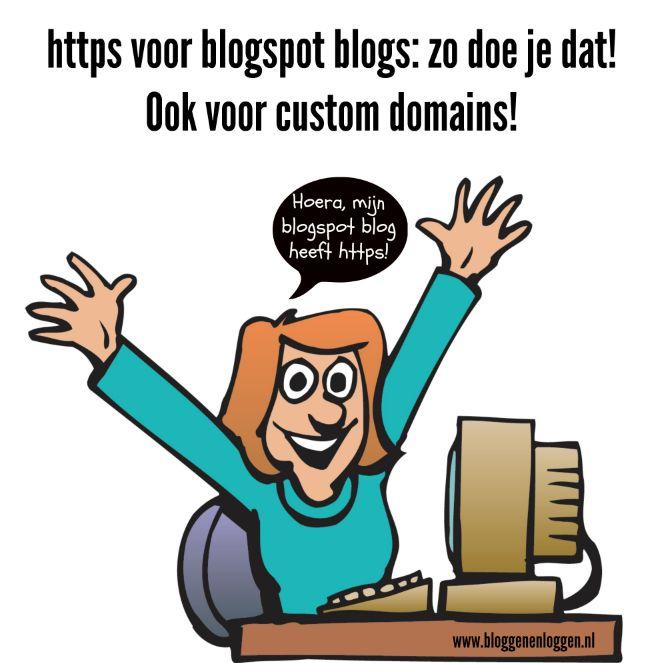 """Heb jij blogspot blog met je eigen domeinnaam? En begint die domeinnaam met http en niet met https? Dan is de kans groot dat je een tijdje terug ongeveer hetzelfde mailtje kreeg als ik: Chrome will show security warnings on http://www.hetmoederbedrijf.com Starting October 2017, Chrome (version 62) will show a """"NOT SECURE"""" warning when users …"""