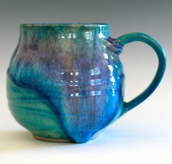 Extra Large Coffee Mug 24 oz #ceramics