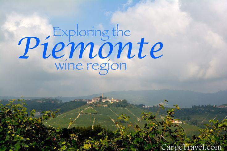 Exploring wines in the Piedmont wine region of Italy.