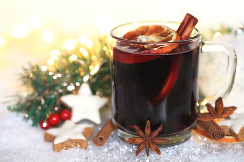 mulled wine is the best christmas cocktail