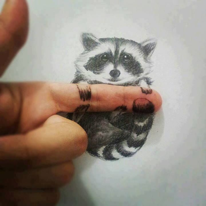 3D drawing art... this is so cute!