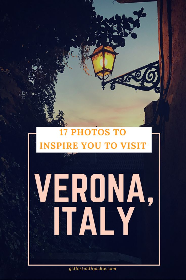 Verona, Italy is an absolutely beautiful city. If you're looking for places to travel in Europe, this should be your next stop! We'll show you hidden views in the city and picturesque parts of the city of love. Make sure you save this travel inspiration pin to your travel board so you can find these beautiful spots on your next trip to Verona.