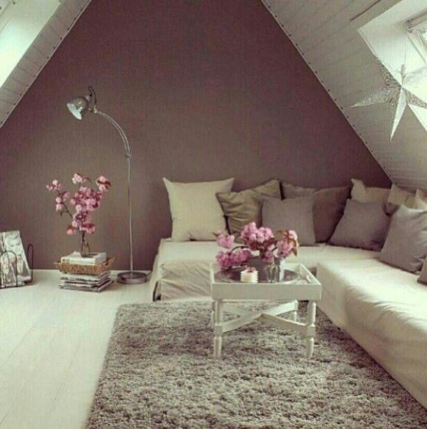Here is a loft conversion, living room decoration. #loftconversionlondon #amazing