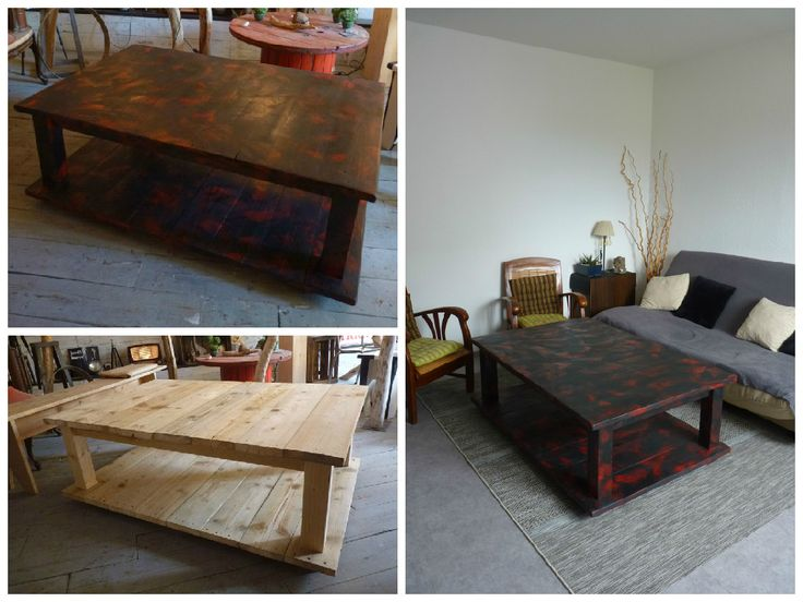 Best 25 palette coffee tables ideas on pinterest how to - Table basse tati ...