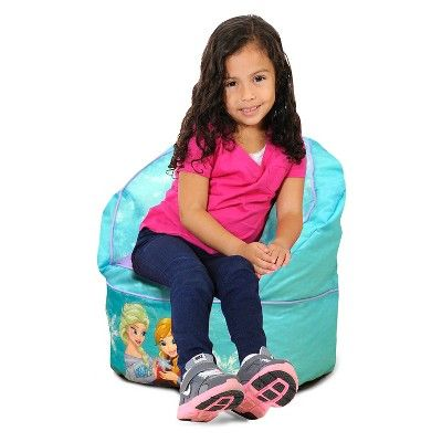 Frozen Toddler Bean Bag Chair - Light Blue - Disney,