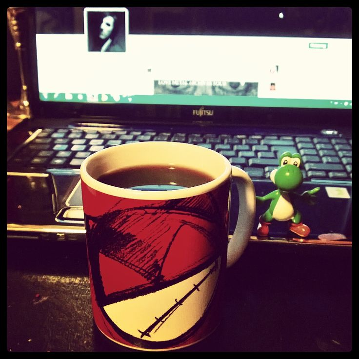 Yoshi needs coffee too ;)