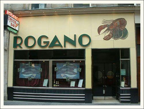 Rogano Oyster Bar. Glasgow