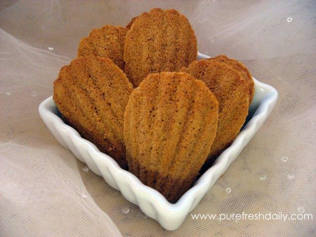 Gluten-free Lemon & Lavender Almond Flour Madeleines. Almond flour ...
