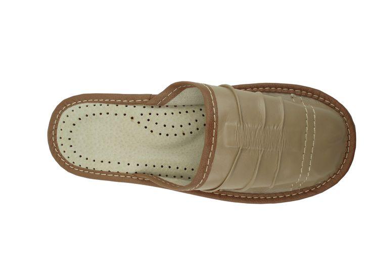 Polskie pantofle skórzane regionalne Zakopinaki #dorarte  #rekodzielo #obuwie #pantofle