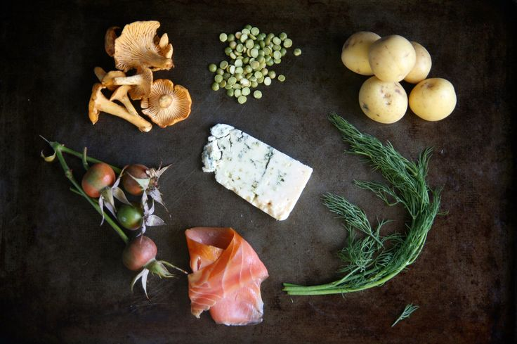 New Nordic's Cool, But Old Scandinavian Food Holds Its Own [with recipes for rose hip soup, Finnish pasties, and smorgastarta/sandwich cake]