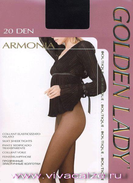 ARMONIA 20 #Колготки тонкие, шелковистые. Ластовица из хлопка. Задняя вставка в размере XL. Сформированная ступня.