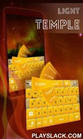 Light Temple GO Keyboard  Android App - playslack.com ,  LIGHT TEMPLE GO toetsenbord is het laatste thema gemaakt door onze geweldige team!- Het is zeer eenvoudig te installeren: openen, klikt u op 'Set Actieve Thema' en kies lichte tempel GO toetsenbord uit de volgende lijst!- De screenshots zijn geweldig en ze zullen u overtuigen hoe ongelooflijk je toetsenbord zal zijn!- GO Keyboard is noodzakelijk voor dit thema en als je het niet hebt geïnstalleerd, maar er is geen probleem, wordt u…