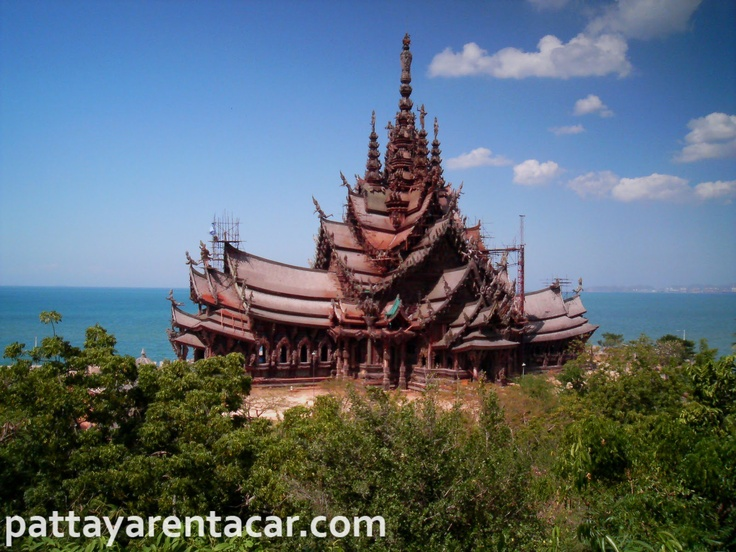 Sanctuary of Truth (Prasat Satchatham), Pattaya, Thailand