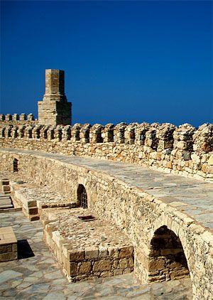 Heraklion Port in Creta, Greece.