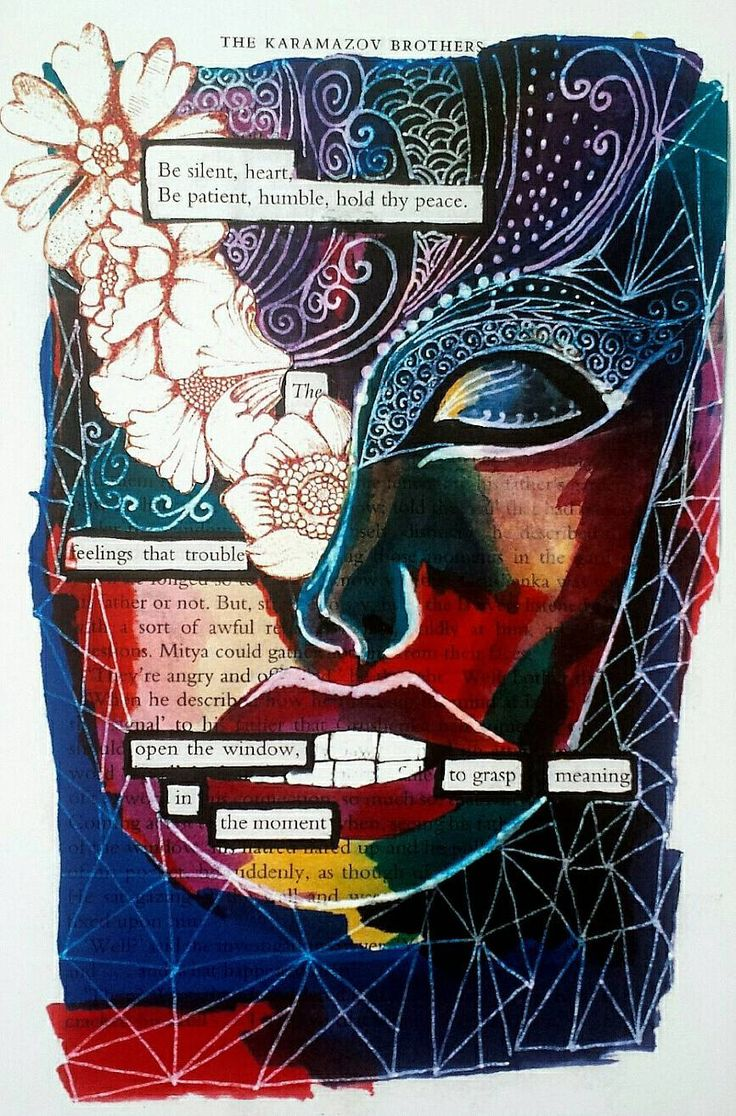 Black out poem print - Transformation