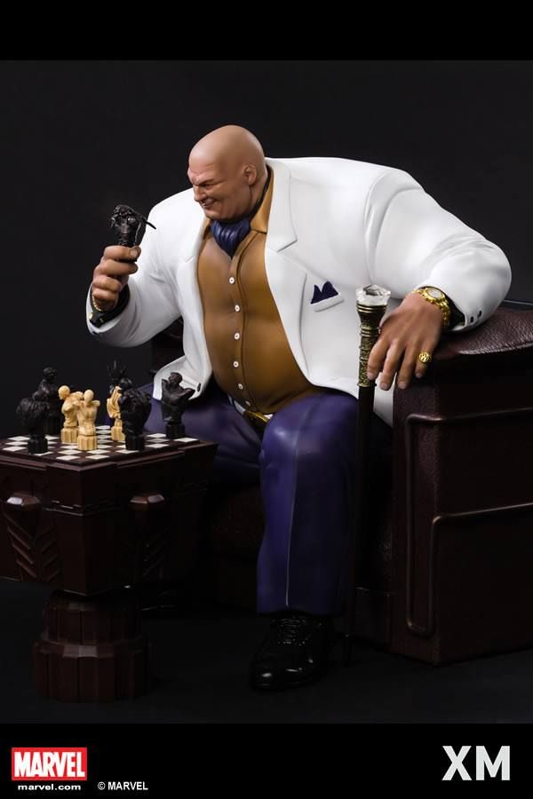 Open for PO 10th March at 00:00, (remember it's Thursday midnight leading to Friday Singapore time zone), the Kingpin retails for SGD990 and limited to 500 ES. Perfect companion piece to the Daredevil, Spider-man and Elektra statue!