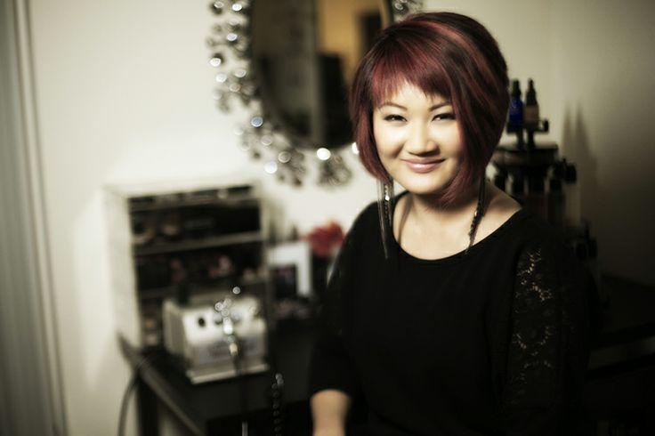 Annie Lam - owner, senior makeup artist/hair stylist, Motives Certified Trainer, makeup/hair instructor, licensed cosmetologist